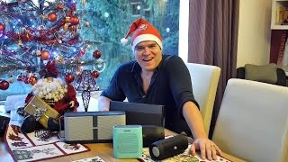 Video Merry Christmas with the best portable Bluetooth speakers 2014 download MP3, 3GP, MP4, WEBM, AVI, FLV Juli 2018