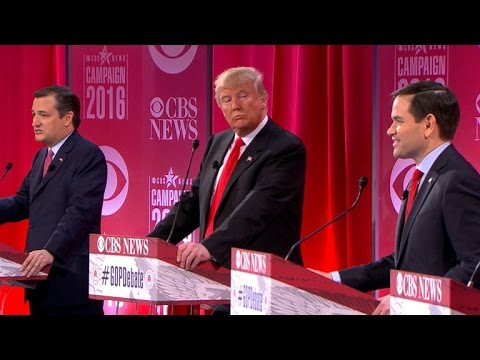 Republican candidates wage war of words on one another