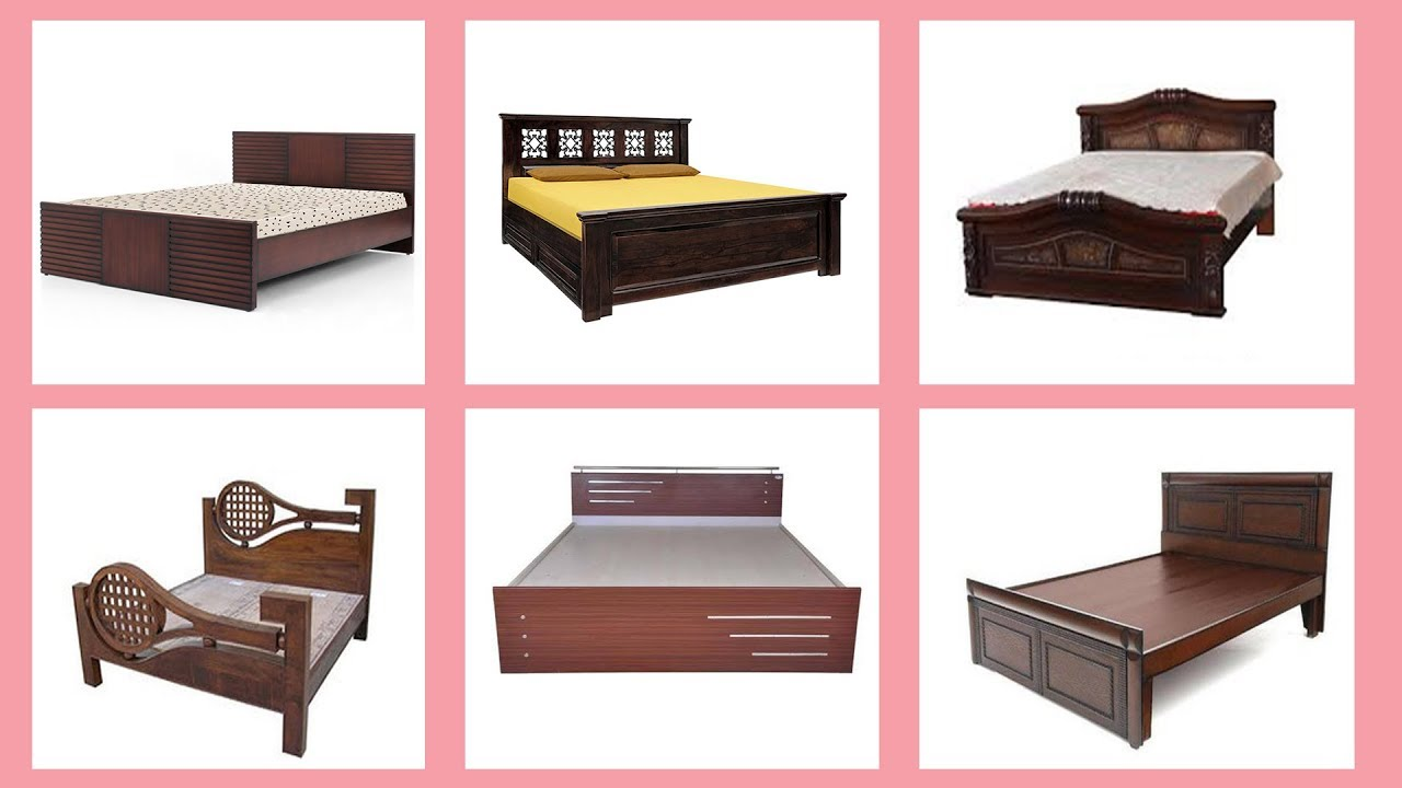140 Top Wooden Bed Designs At Low Cost Youtube