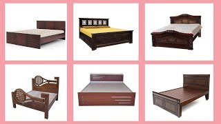 140+ Top Wooden Bed Designs At Low Cost 👌👌👌