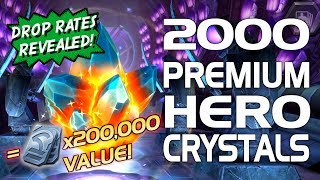 2000 Premium Hero Crystal Opening (4 Million PHC Shards) | Marvel Contest of Champions