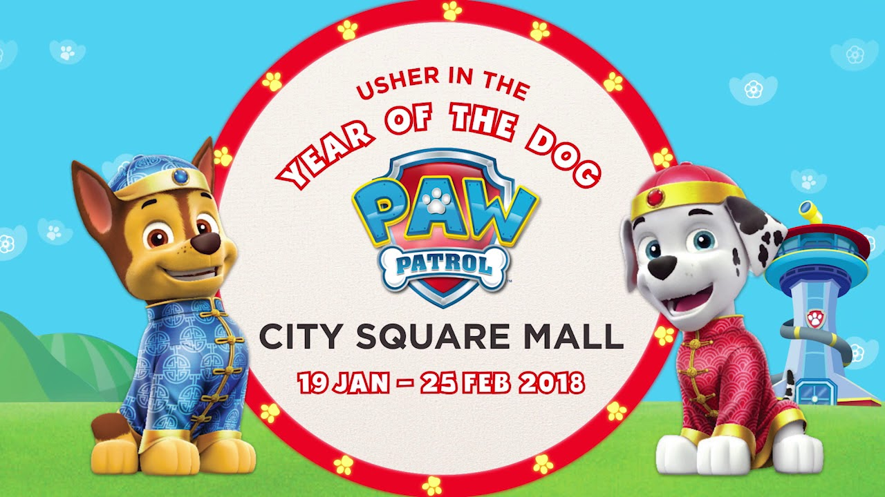 CNY 2018 - Usher in the Year of the Dog with PAW Patrol
