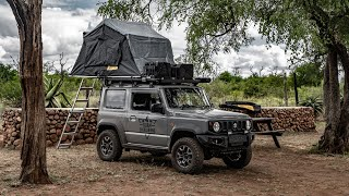 Camping In Our Jimny! Animals, Rooftoptents & Campfire Cooking (2020) [Eswatini Part 2]
