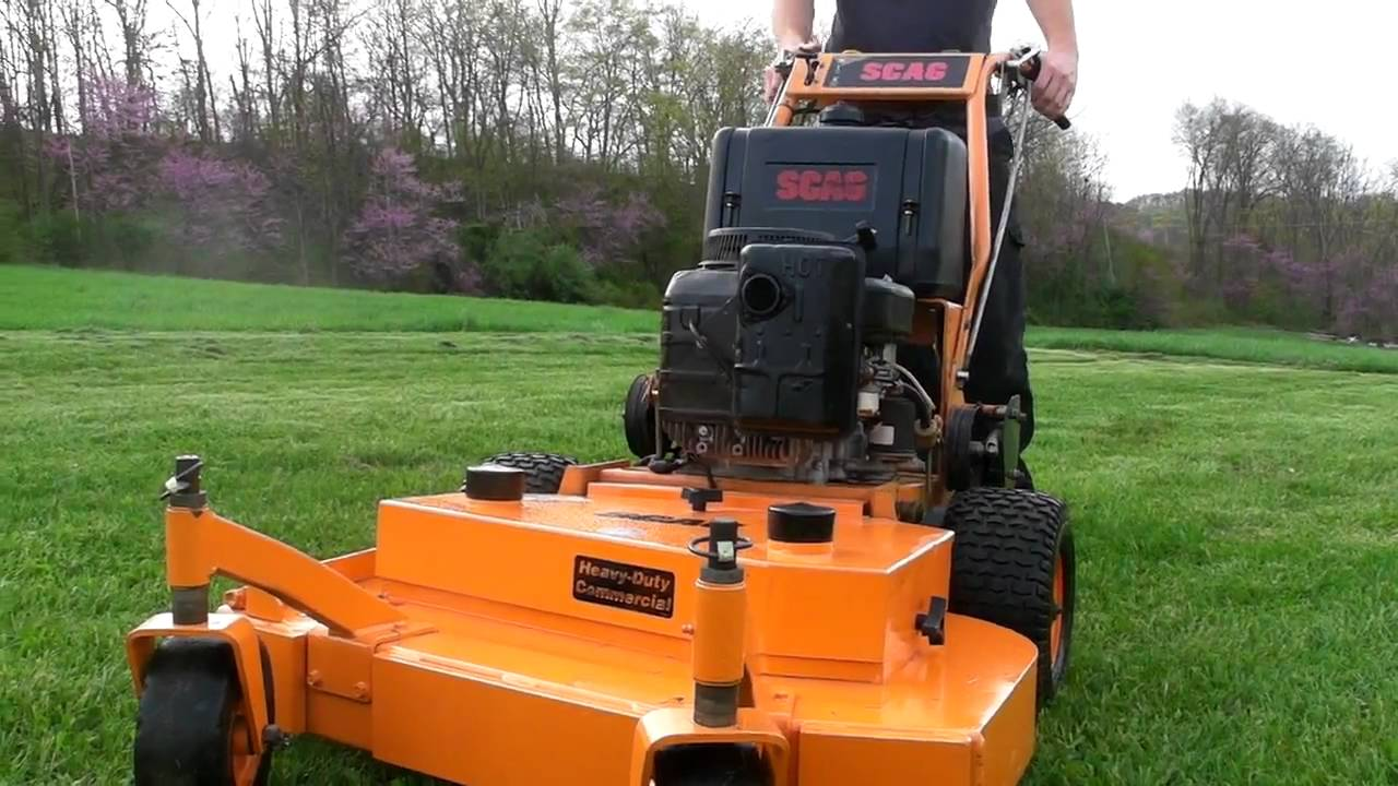 Scag 36 Commercial Zero Turn Walkbehind Lawn Mower
