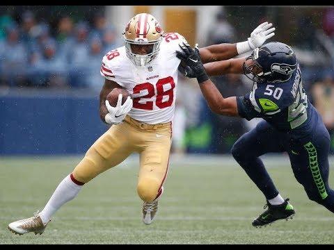 Carlos Hyde vs Seahawks (NFL Week 2) - 124 Yards! Spark!   2017-18 NFL Highlights HD
