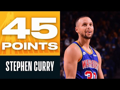 Steph Curry Was SCORCHING HOT 45 PTS \u0026 10 REB 🔥
