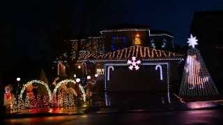 Christmas Light Show - What Does the Fox Say [Ylvis] - Frostyritz - 2013