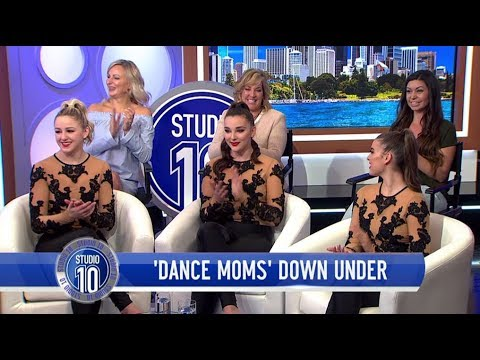 'Dance Moms' Stars In Australia For The Irreplaceables Tour  Studio 10