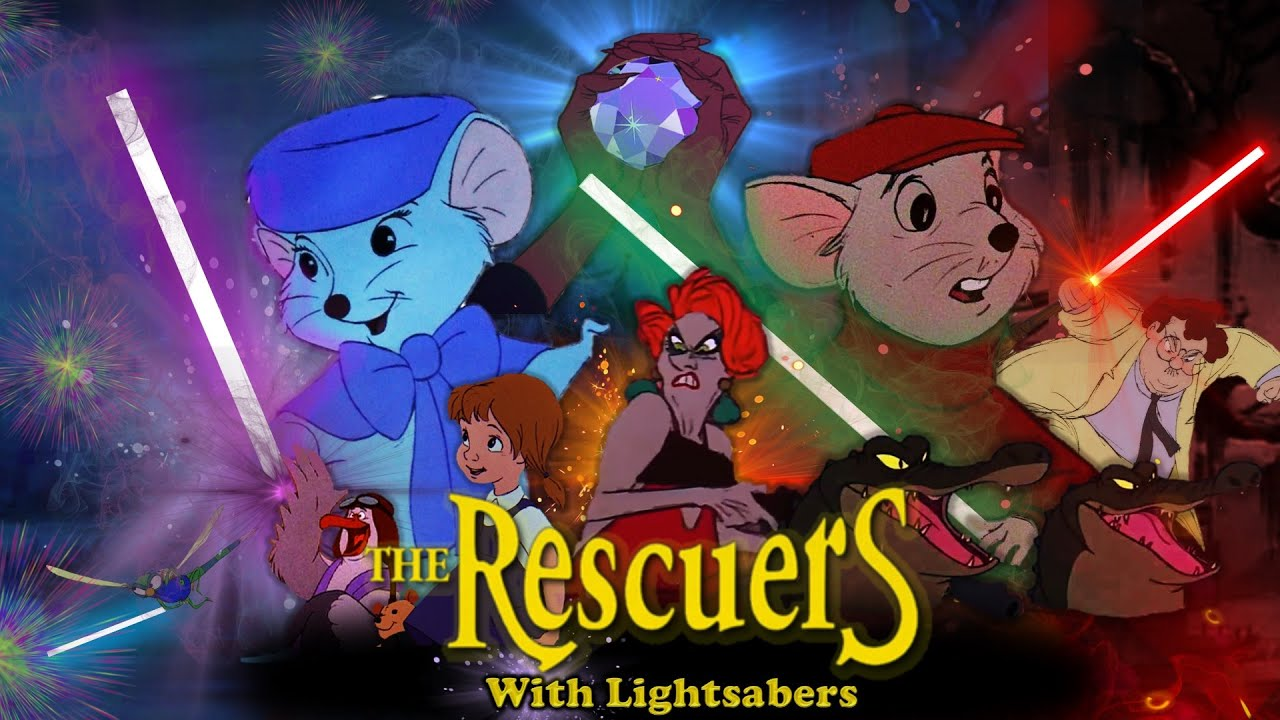 Download The Rescuers (1977) with Lightsabers