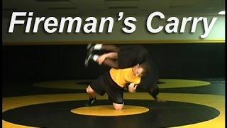 Wrestling Moves KOLAT.COM Fireman's Carry