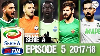 Best goalkeeper saves serie a 2017/18 #episode 5