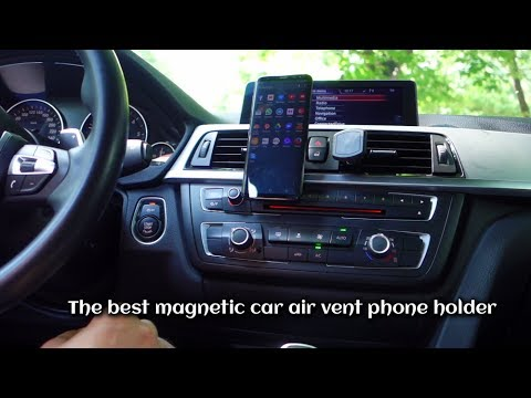 The Best Magnetic Car Air Vent Phone Holder Youtube