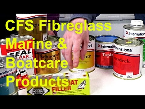 CFS Fibreglass Marine Paints, Antifouling & Boatcare