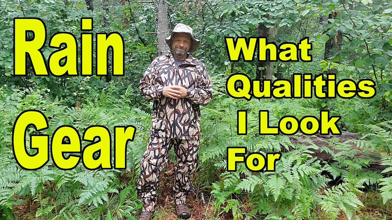 What Qualities I Look For In Rain Gear