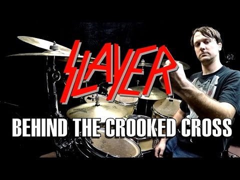 SLAYER  Behind The Crooked Cross  Drum