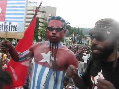 KNPB  Thousands People of West Papua Demand Referendum 14 Nov 2011   YouTube
