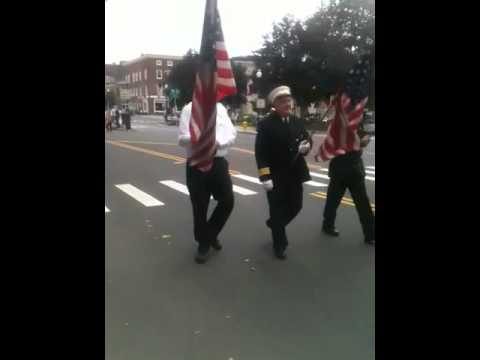 Greenfield Massachusetts 9-11 memorial parade