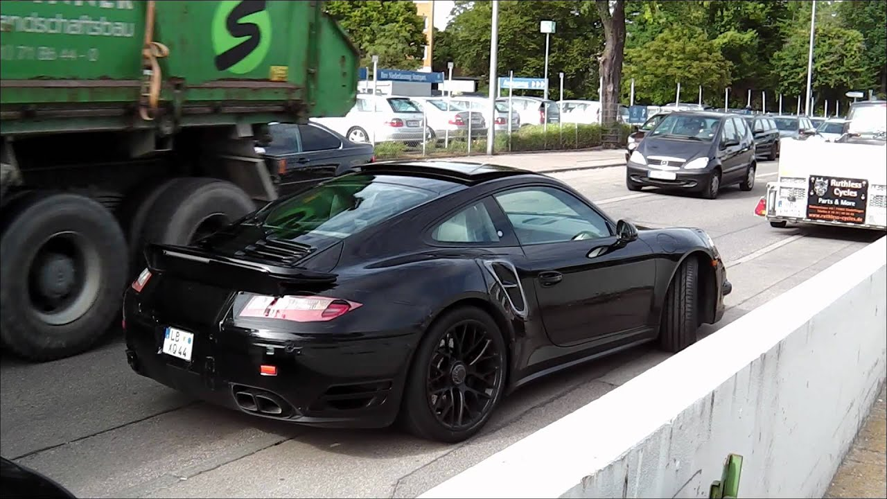 New Porsche 911 Turbo 2013 991 Series Barely Disguise