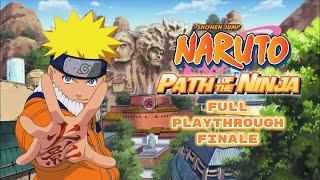 Naruto: Path of the Ninja   Finale: Boss fights vs Gaara, Temari, and Kunkuro   Part 16