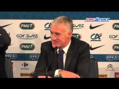 """Equipe de France / Deschamps : """"Giroud a eu une bonne présence"""" - 15/10"""