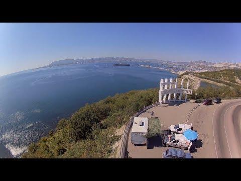 Новороссийск 2018. В отпуск с квадрокоптером. Novorossiysk. Drone travel 2018.