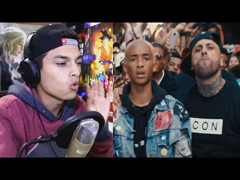 Jaden Smith - Icon (Remix) ft. Nicky Jam (Official Video) Volvio el Nicky Jam Maliantoso Reaccion