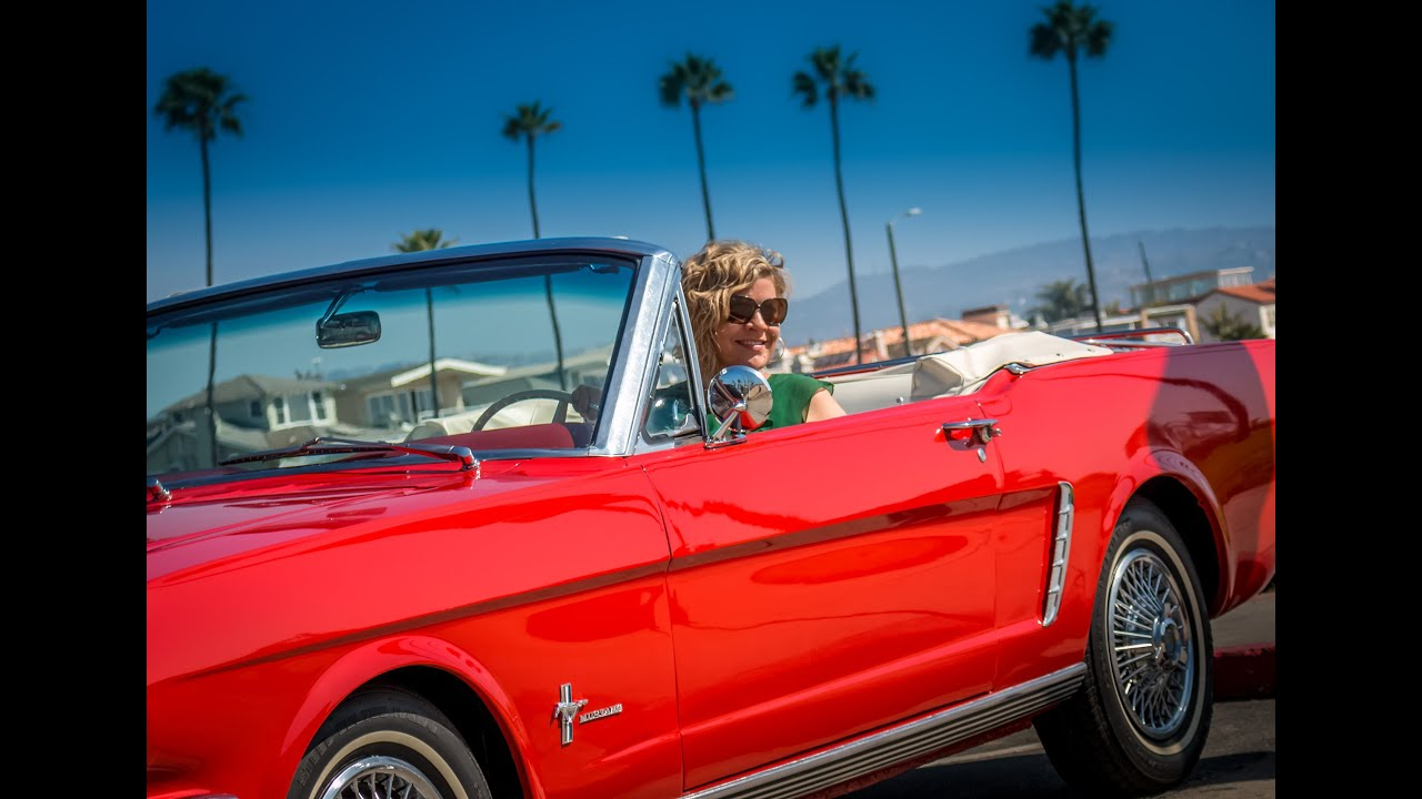 Joanna S Date With Lucille A 1965 Ford Mustang
