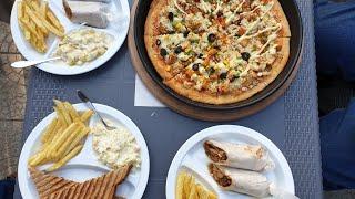 Healthy Diet | Whole Wheat | Pizza | Shawarma | Sandwich | Ossamz Cafe