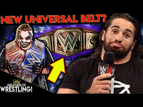 New WWE Universal Title Belt!? (Seth Rollins COMPLETELY Lost It!)
