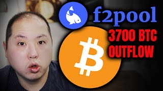 WARNING!! F2POOL'S LARGEST BITCOIN OUTFLOW!! DUMP INCOMING??!!