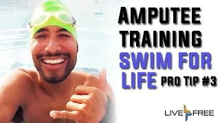 Repeat youtube video Amputee Training Pro Tip #3 - Swim for Life