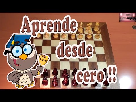 Tutorial de ajedrez.  Aprende desde cero completo