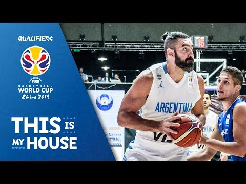 Luís Scola - Argentina | Top Plays Rd.1 | FIBA Basketball World Cup 2019 Americas Qualifier