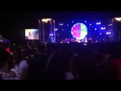 คอนเสิร์ต ปาล์มมี่ เพลง คิดมาก... งาน SangSom 18/10/2557