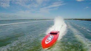 DJI PHANTOM CHASING FLORIDA KEYS POWERBOATS