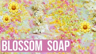 Blossom Custom Soap with Flowers + $100 Giveaway | Royalty Soaps