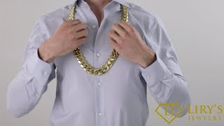 $70,000 18kt  Miami Cuban Link Chain Most expensive miami cuban link on youtube