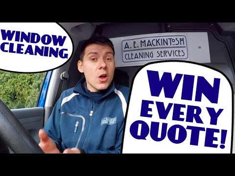 How To Win Every Window Cleaning Quote