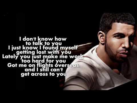Drake   Too Good Lyrics On Screen ft  Rihanna