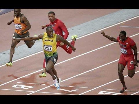 Men's 100m Final Brazil 2016 Olympics Usain Bolt wins the ...