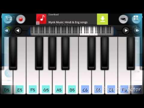 mobile piano ( Vijay kathi movie  theme music)
