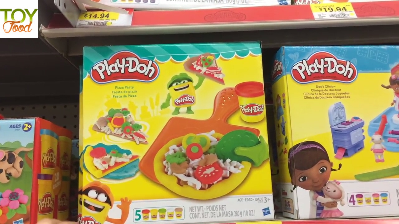 New Toy Shopping Hunt At Walmart Playdoh Shopkins Toy Food