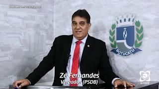 Vereador Zé Fernandes encerra suplência manifestando gratidão
