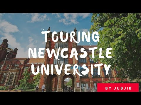 Touring Newcastle University by Jubjib EP.1