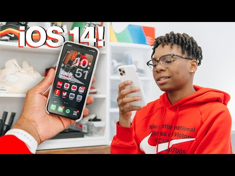 iOS 14 Home Screen Customization with Widgets + Organization Tips/Tricks!