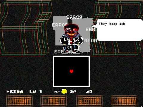 Error!sans - Fan Made Boss Fight v2 (Unitale/Undertale) With Download LINK!