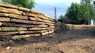 Подпорные стенки в ландшафтном дизайне // FORUMHOUSE thumbnail