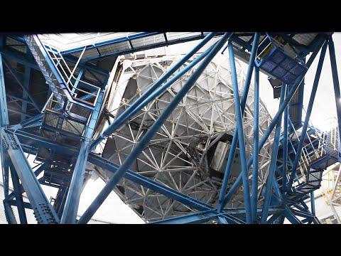 Keck I Telescope rotation - Mauna Kea - Hawaii