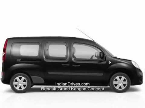 renault grand kangoo new seven seat minivan youtube. Black Bedroom Furniture Sets. Home Design Ideas