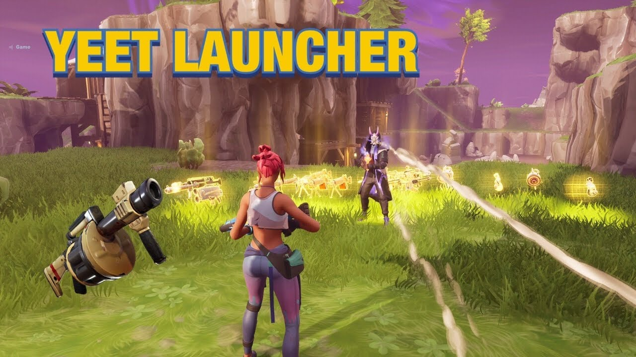 Salty Rich Scammer Has Mythic YEET LAUNCHER!🤩🤯(Scammer Gets Scammed) Fortnite Save The World